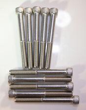 "5/16-24 X 2-1/2"" Stainless steel socket socket head standard bolts 10pcs"