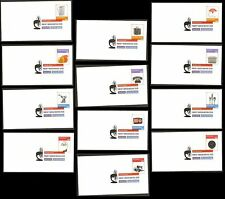 US 4546a-4546l 4546 American Industrial Design (set of 12) DCP FDC 2011