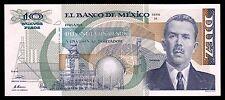 El Banco de Mexico 10 Nuevos Pesos Serie H 31.7.1992, P-95 UNC