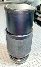 Zivnon SP 75-150mm f4 zoom lens, Olympus OM mount, with hard case