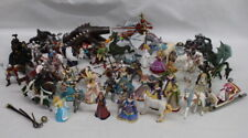 55 Pc PAPO Medieval Figurines, Soldiers, Warcraft, Mythical Creatures 2002-2009