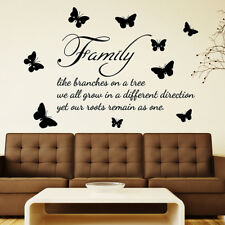 WALL QUOTES WALL ART DECAL STICKERS  Bedroom Vinyl Words Decal HUGE LARGE sizes