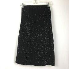 Michael by Michael Kors Women's Black Strapless Sequined Cocktail Dress Sz 6