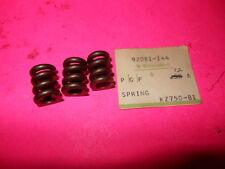 NOS OEM Kawasaki 1976 1977 1979 KZ750 LTD TWIN SPRING QTY3 92081-144