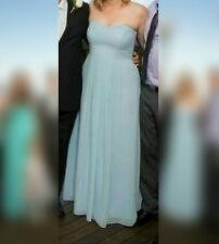 Tokito Collection light blue strapless formal maxi dress 14