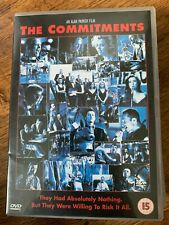 The Commitments DVD 1991 Roddy Doyle Barrytown Dublin Soul Musical Movie Classic