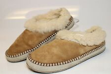 UGG Australia Uggs Womens 9 40 Wrin Suede Sheepskin Scuffs Slipper Shoes 1007727