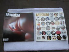 Lot of 2 Artforum International Magazine 2009 NOV DEC # 29
