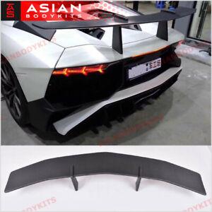 CARBON Rear Wing Spoiler SV style for Lamborghini Aventador LP700 (2011 - 15)