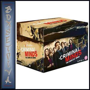 CRIMINAL MINDS COMPLETE SERIES - SEASONS 1 - 15  ** BRAND NEW DVD BOXSET****