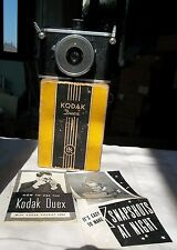 Vintage KODAK DUEX EKC Eastman Kodak 620 Film Camera w/instructions & box