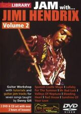 Lick Library Jam With Jimi Hendrix Volume 2 Learn to Play Guitar DVD Rdr0349