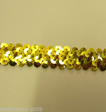 Elasticated Stretch Sequin Trim