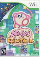Kirby's Epic Yarn (Wii, 2010) Game Case Only - No Game