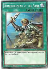 Reinforcement of the Army SDHS-EN032 Common Yu-Gi-Oh Card 1st Edition New