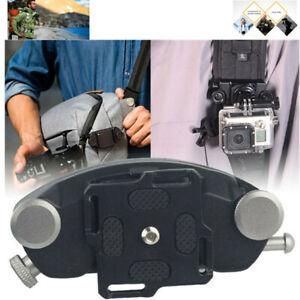 Quick Release Camera Waist Buckle Mount Clip Belt Strap for DSLR Digital Cameras