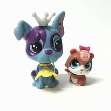Hasbro Littlest Pet Shop Dane Maguire#3895 & Kiki Russo#3896 With Accessory Sets
