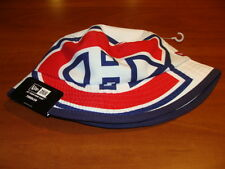 Montreal Canadiens Cap Hat Toddlers New Era Bucket Kids White Red NHL Hockey