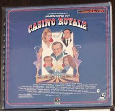 Casino Royal (James Bond 007) Laserdisc