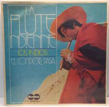 Los Indios - La Flute Indienne LP El Condor Pasa 1972 world music Israel Press