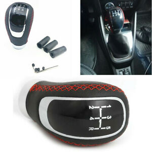 Universal Car Accessories Gear Shift Knob Leather Manual Shifter Lever Cover Kit