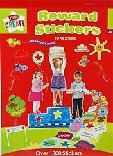 Kids Create Reward Stickers
