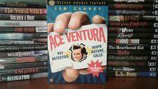 Ace Ventura Deluxe Double Feature (DVD, 2006, 3-Disc Set) Rare OOP