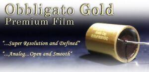 Obbligato Premium Gold MKP polypropilen Capacitor