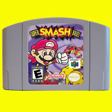 Nintendo 64 N64 Game Super Smash Bros. USA version