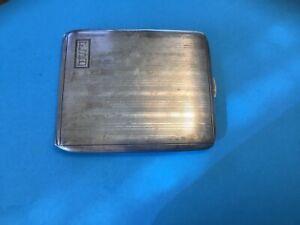 Sterling silver cigarette case
