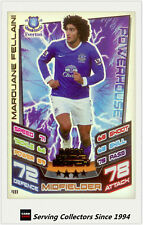 2012-13 Match Attax Man Of Match Foil Card #411 Marouane Fellaini (Everton)