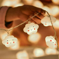 Cloud LED Curtain Fairy Hanging String Lights Christmas Wedding Party Home Decor