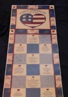 "Portal Publications Presents: E#arly American Proverbs Poster 11 3/4"" X 36"" (NIB"