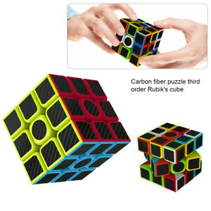3x3x Magic Cube Fast Speed Rubics Rubix Toys Super Smooth Magic Rubiks Puzzle