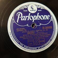78 tr/min Eddie Condon Quartet Indiana/oh baby