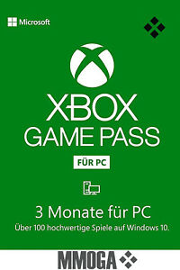 Xbox Game Pass für PC - 3 Monate Mitgliedschaft Windows 10 PC Code - DE/Global