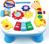 Lerntisch Spieltisch Spielzeug Motorik Musik Activity Center Kinder Piano Baby