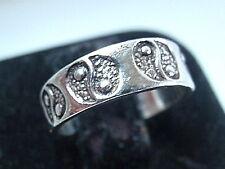 Yin Yang Toe Ring Adjustable 925 Sterling Silver Corona Sun Jewelry