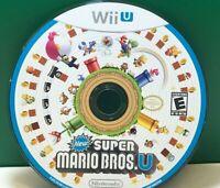 New Super Mario Bros. U (Nintendo Wii U, 2012) DISC ONLY 17820