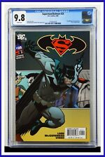 Superman Batman #25 CGC Graded 9.8 DC May 2006 White Pages Comic Book