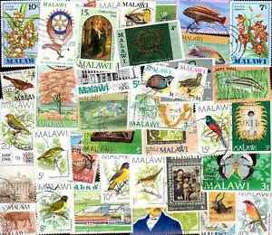 Malawi 500 Stamps Different