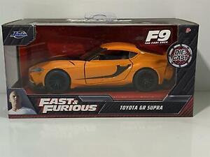 Fast And Furious F9 Toyota Gr Supra Orange 1:3 2 Jada 32016