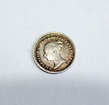 More details for silver 1 1/2 penny coin 1843