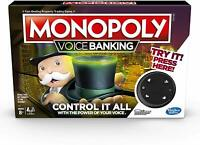 Monopoly Voice Banking - Electronic Monopoly Family Game - New