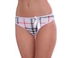 Gestreifte Damen-Slips, - Strings & -Pants für glamouröse Anlässe