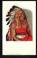 INDIEN chef FLAT IRON sioux