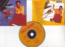 """Sergio MENDES """"Arara"""" (CD) 1989 Sarara, Mas que nada..."""
