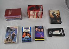 Lot of VHS Movies Tapes Scenic Wonders America Rocky Full Set Black Beauty J3G54