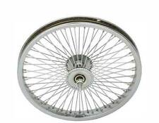 "LOW RIDER LOWRIDER BIKE BICYCLE 16"" 72 Spoke Front Wheel 14G Chrome"