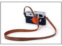 Cowhide leather Khaki strap for Leica M10 M9-P M246 M240 Fujifilm Xpro2 XT1 XT20
